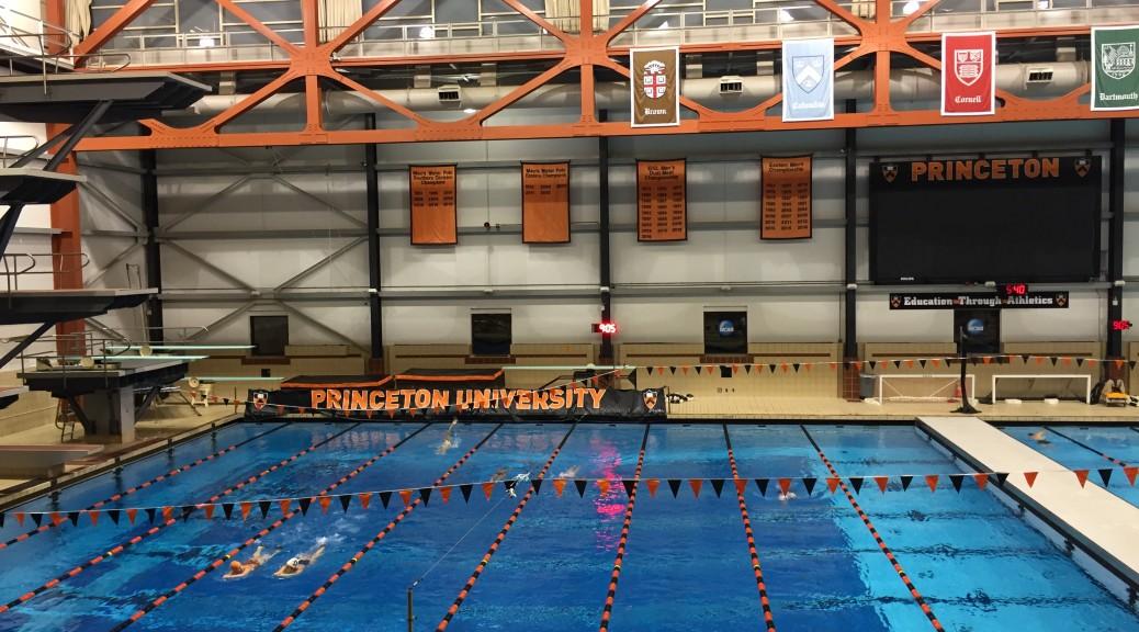 Yoga swole keri 39 s journey through life yoga and - Princeton university swimming pool ...